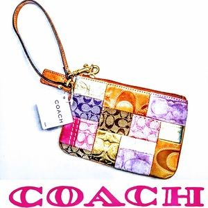 AUTHENTIC COACH PATCHWORK WRISTLET